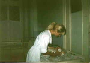 С маленьким пациентом в инфекционном стационаре