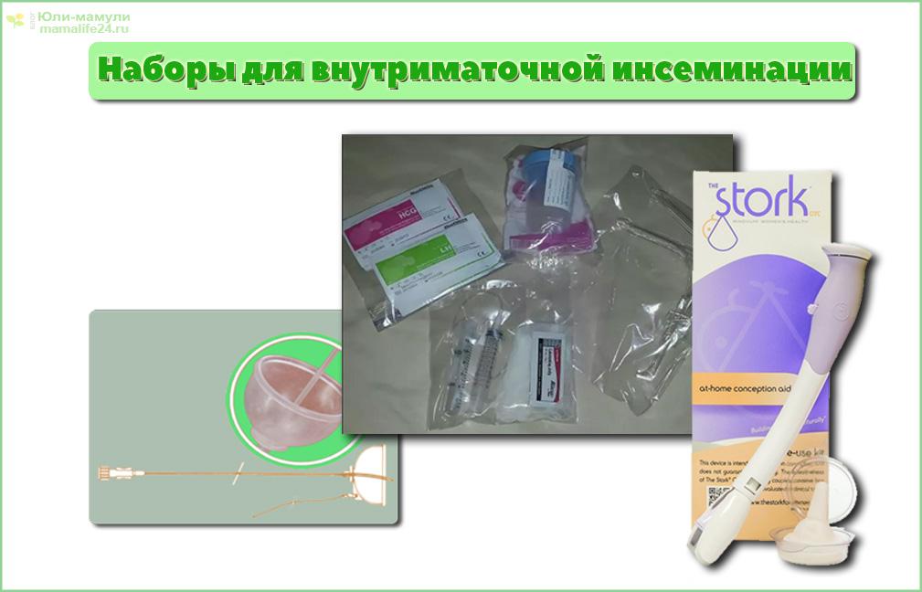 Наборы для внутриматочной инсеминации